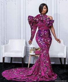 50 Pictures - Stunning Ankara Fashion Dresses We Are Currently Vibing With 29 Ankara Long Gown Styles, Ankara Styles For Men, Latest Ankara Styles, Ankara Skirt And Blouse, Types Of Lace, Short Gowns, Brown Skin Girls, Aso Ebi Styles, Lace Outfit