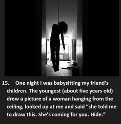 17 Creepy Things Kids Have Said to Babysitters