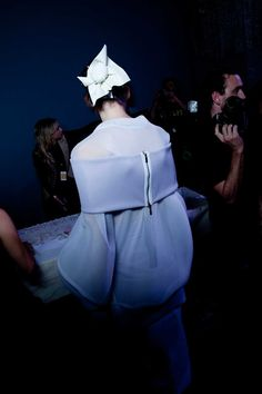 MBFWA 2015: Backstage at Maticevski #mbfwa #maticevski #runway #fashion #backstage #2015