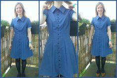 deer and doe bleuet dress