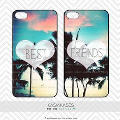 Paradise BEST FRIENDS bff Case / Summer iPhone 4 by KasiaKases, $19.99
