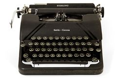 No clue as to why I feel I need a manual typewriter. I just miss the feel of the keys and the sound, I guess.