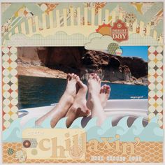 """Rhinestones and Ribbon: """"Chillaxin'""""- Lifestyle Crafts Pool Party Release"""