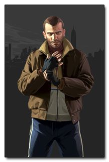 View an image titled 'Niko Bellic Art' in our Grand Theft Auto IV art gallery featuring official character designs, concept art, and promo pictures. San Andreas, Grand Theft Auto Games, Grand Theft Auto Series, Resident Evil, Video Game Logic, Video Game Characters, Foto Gta 5, Rockstar Games Gta, Gamer 4 Life