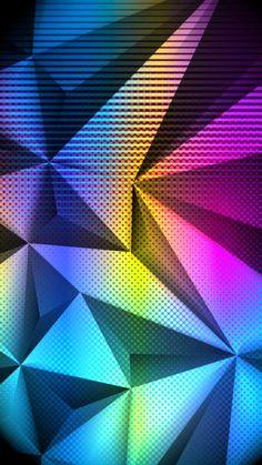 Colorful Wallpaper, I Wallpaper, Pattern Wallpaper, 3d Pattern, Patterns, Apple Wallpaper Iphone, Cool Walls, Galaxy Note, Cool Art