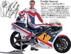 Freddie Spencer Cover Photo on Facebook