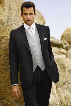>> Click to Buy << Custom Design Two Button Black Groom Tuxedos Groomsmen Mens Wedding Suits Prom Bridegroom (Jacket+Pants+Vest+Tie) NO:594 #Affiliate
