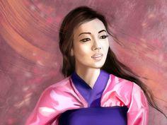 I got: Mulan! Which Disney Princess Do You Look Like?
