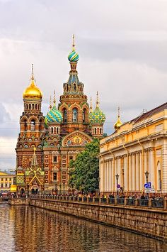 It has always been a dream to visit the 'ice-cream cone- palace I drew pictures of as a child. St. Petersburg