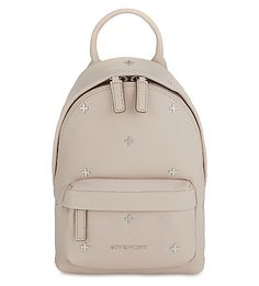 GIVENCHY Cross Nano Leather Backpack. #givenchy #bags #leather #backpacks #