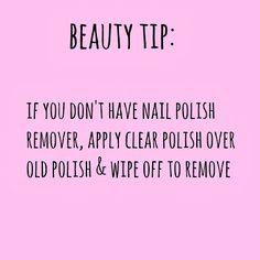 Younique by Kristen Morton: Quick Tip: Nail Polish Remover