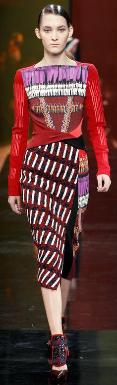 Peter Pilotto Fall 2014 Ready-to-Wear