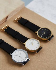 Which one is your favorite? #blackcollection  #gramercy #rosefield #rosefieldwatches #amsterdam #newyork #nyc