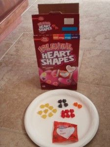 2 FREE math activity printables using betty crocker heart shaped fruit snacks. Levels Prek to Grades 3!!