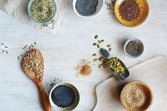 9 Super Seeds Are Small but Mighty Curated for you by Nutrition Gone Wild | http://partynutrition.tips/nutrition-gone-wild-p