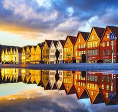 Stunning Instagrams of Bergen, Norway by Atle Rasmussen #inspiration #photography