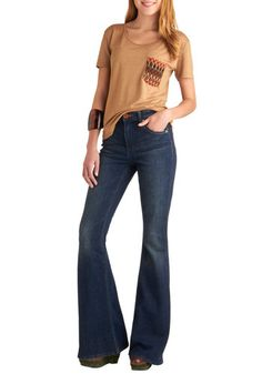 Flare Play Jeans, #ModCloth They are Dittos....anyone remember these in the 70's?  They are still cute!