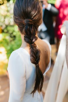 La boda de Rocío y Nacho en Hacienda de Santa Rosa Cute Hairstyles Updos, Wedding Hairstyles With Veil, Short Wedding Hair, Curly Hair Styles, Natural Hair Styles, Modelos Fashion, Hair Today, Textured Hair, Hair Looks