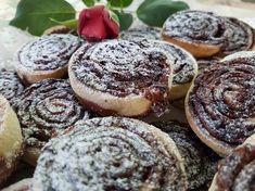 Kakaós csiga (gyors, omlós) | Csukonyiné Timi receptje - Cookpad receptek Minion, Cheesecake, Muffin, Breakfast, Desserts, Food, Morning Coffee, Tailgate Desserts, Deserts