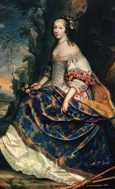 Madame la Princesse, Claire Clémence de Maillé (1628-1694) by Charles Beaubrun