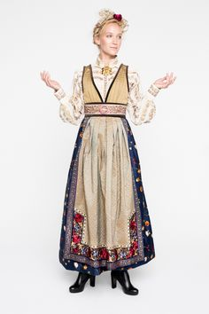 FANTASISTAKKER - Eva Lie Design ASEva Lie Design AS Norwegian Clothing, Fantasy Gowns, Scandinavian Fashion, Tribal Dress, Wedding Costumes, Swedish Design, Folk Costume, Embroidery Dress, Festival Wear