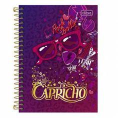 Caderneta Espiral Capa Dura - Rock Dolls - CAPRICHO