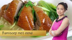 Chinese bamisoep met eend