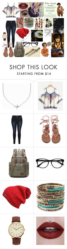 """""""H. O. O."""" by boredom-is-my-motivation ❤ liked on Polyvore featuring Minnie Grace, Hermès, Kipling, EyeBuyDirect.com, Amrita Singh and BKE"""