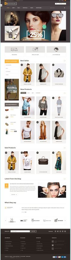 Assyrian is responsive #eCommerce #WordPress theme is suitable for #fashion shop. It has multiple layouts for home page, blog page to give you best selections in customization. With many great features like Ajax shopping cart, wishlist, compare, zoom and fancybox to bring into a modern look of #website.