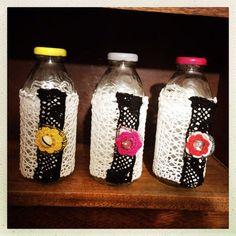lace glass storage jar