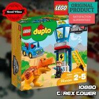 LEGO 10880 Trex Tower DUPLO Mainan Edukasi Dinosaurus Anak Original #thekingbricks #thekingid #theking #kingbricks #gvonline #uhappyihappy #tokolegoterpercaya #tokomainanoriginal #lego10880 Lego Duplo Sets, Lego City, Lego Star Wars