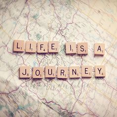 Photography Life Is a Journey | life travel photography / journey map wanderlust by shannonpix