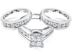 My dream wedding ring set! With engravings