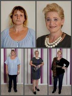 Makeover www.tessabecker.de Before After Hair, Makeup Before And After, Look Thinner, Suits You, Body Types, New Look, Fashion Beauty, Makeup Pics, Dressing