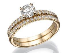 Ct Round Cut Diamond Rose Gold Over Bridal Engagement Ring Set Morganite Engagement, Gemstone Engagement Rings, Engagement Ring Settings, Ring Engagement, Diamond Wedding Sets, Round Diamond Ring, Moissanite Diamonds, Black Rings, Wedding Rings