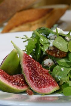 fig & arugula salad...my favorite at The Girl and the Fig, Sonoma CA