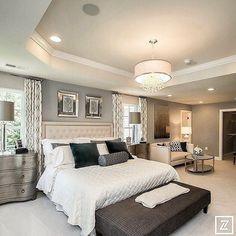 Beautiful, opulent style bedroom.