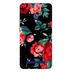 Red Flowers Asus Zenfone 5 Mobile Case - ₹399.00 INR