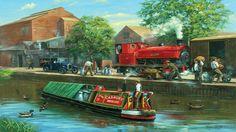 Cadbury Canal Boat