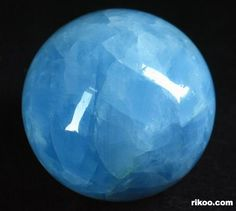 Celestite crystal ball