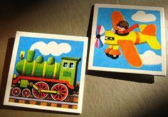 Vintage memory cards fridge magnets steam by haubenmeise on Etsy, Memory Games, Old Games, Kids Hands, Steam Locomotive, Little Boys, Magnets, Geek Stuff, Game Cards, Memories