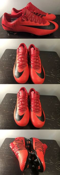 059cda2cd Shoes and Cleats 19298  Nike Mercurial Vapor Xi Sg Pro Soccer Cleats Red  Black 831941-617 Sz 11 -  BUY IT NOW ONLY   94.95 on  eBay  shoes  cleats  ...