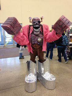 A steampunk Frankenberry ... disturbing, but I can't look away ...