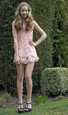 pink lace dress http://bit.ly/JzWhm4