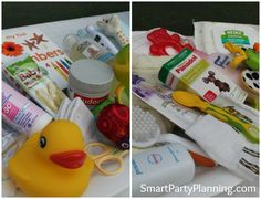 Memory recall game for a baby shower. #BabyShower #Game