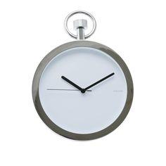 Pocket watch inspired wall clock
