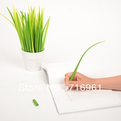 South Korean creative small grass Pooleaf cute stationery Grass blade pen pooleaf ballpoint pen small fresh-in Ballpoint Pens from Office & School Supplies on Aliexpress.com | Alibaba Group