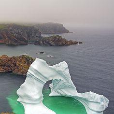 and I have seen iceburgs UP CLOSE! One of our favourite places to visit. Newfoundland Canada, Newfoundland And Labrador, Nova Scotia, Quebec, Alaska, Gros Morne, Atlantic Canada, Canada Eh, Prince Edward Island