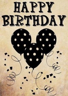 Happy Birthday words clipart png clip art by DigitalGraphicsShop Happy Birthday Words, Birthday Blessings, Happy Birthday Pictures, Happy Birthday Messages, Happy Birthday Greetings, Birthday Love, Disney Happy Birthday Images, Happy Birthday Mickey Mouse, Balloon Birthday