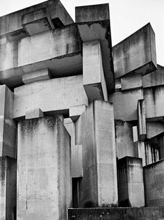 #brutalism #brut #brutal #brutalistarchitecture #architecture #bw #concrete #brutalistbuilding